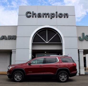 2017 GMC Acadia for sale at Champion Chevrolet in Athens AL