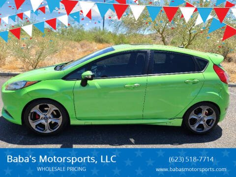2014 Ford Fiesta for sale at Baba's Motorsports, LLC in Phoenix AZ