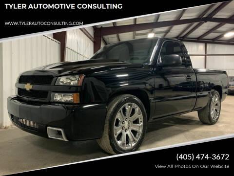 2003 Chevrolet Silverado 1500 for sale at TYLER AUTOMOTIVE CONSULTING in Yukon OK