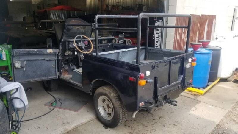 1974 Land Rover Defender for sale at McQueen Classics - current builds in Lewes DE