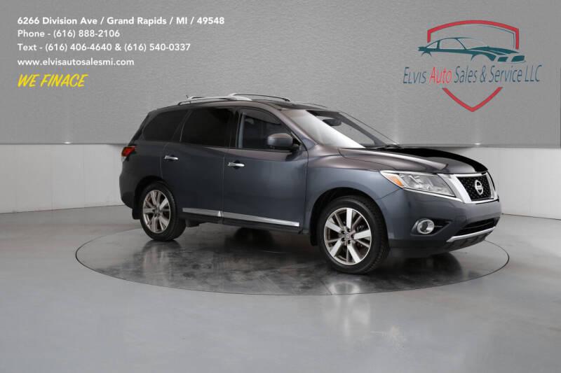 2014 Nissan Pathfinder for sale at Elvis Auto Sales LLC in Grand Rapids MI