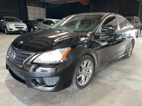 2013 Nissan Sentra for sale at Safe Trip Auto Sales in Dallas TX