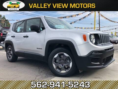 2015 Jeep Renegade for sale at Valley View Motors in Whittier CA