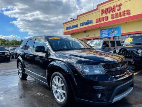 2015 Dodge Journey for sale at Popas Auto Sales in Detroit MI