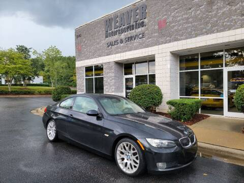 2009 BMW 3 Series for sale at Weaver Motorsports Inc in Cary NC