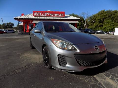 2013 Mazda MAZDA3 for sale at Kelley Autoplex in San Antonio TX