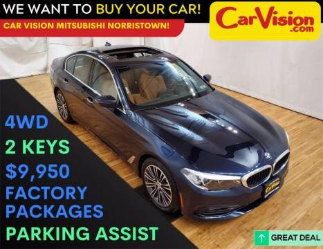 2017 BMW 5 Series for sale at Car Vision Mitsubishi Norristown in Trooper PA