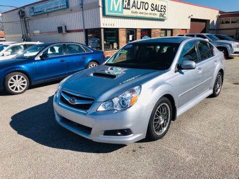 2012 Subaru Legacy for sale at MR Auto Sales Inc. in Eastlake OH