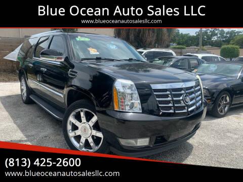 2010 Cadillac Escalade ESV for sale at Blue Ocean Auto Sales LLC in Tampa FL