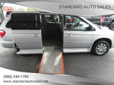 2007 Chrysler Town and Country for sale at Standard Auto Sales in Billings MT