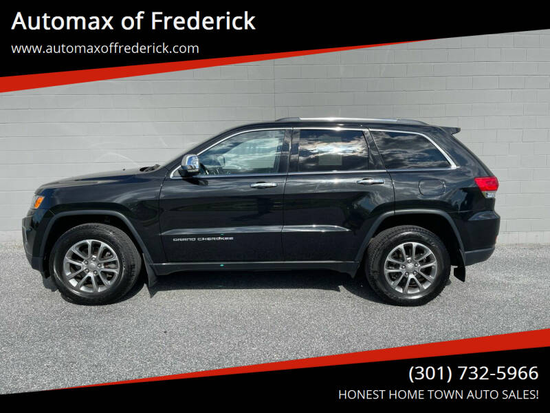 2016 Jeep Grand Cherokee for sale at Automax of Frederick in Frederick MD