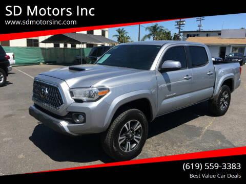2019 Toyota Tacoma for sale at SD Motors Inc in La Mesa CA
