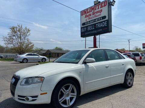 2006 Audi A4 for sale at Unlimited Auto Group in West Chester OH