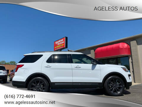 2019 Ford Explorer for sale at Ageless Autos in Zeeland MI