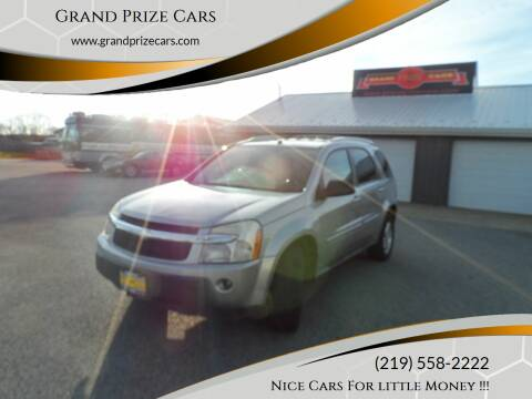 2005 Chevrolet Equinox for sale at Grand Prize Cars in Cedar Lake IN