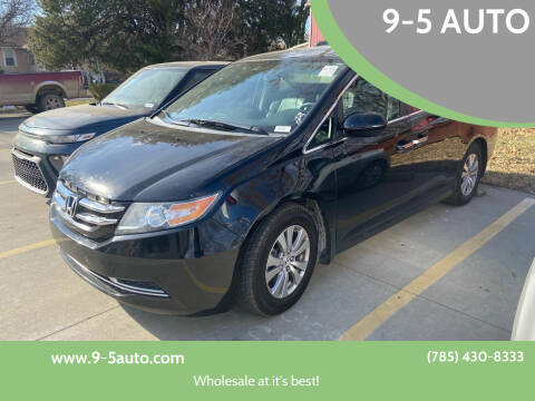 2015 Honda Odyssey for sale at 9-5 AUTO in Topeka KS