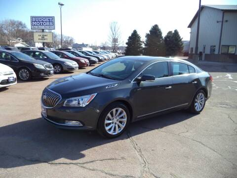 2016 Buick LaCrosse for sale at Budget Motors - Budget Acceptance in Sioux City IA