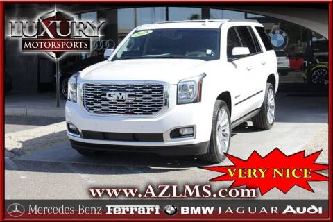 2018 GMC Yukon for sale at Luxury Motorsports in Phoenix AZ