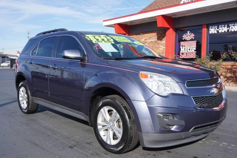 2013 Chevrolet Equinox for sale at Premium Motors in Louisville KY