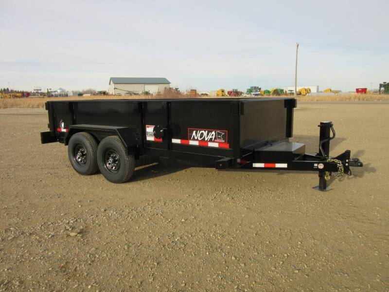 """2021 Midsota 82"""" X 14'   NOVA SERIES for sale at Nore's Auto & Trailer Sales - Dump Trailers in Kenmare ND"""