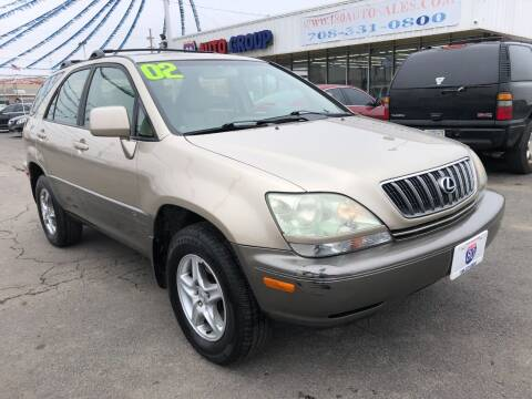 2002 Lexus RX 300 for sale at I-80 Auto Sales in Hazel Crest IL