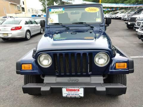 2006 Jeep Wrangler for sale at Elmora Auto Sales in Elizabeth NJ