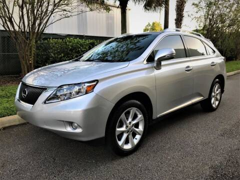 2010 Lexus RX 350 for sale at DENMARK AUTO BROKERS in Riviera Beach FL