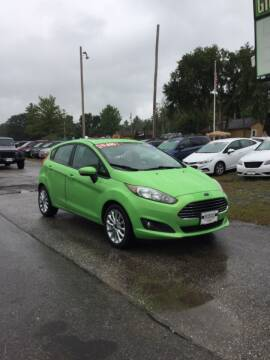 2014 Ford Fiesta for sale at Giguere Auto Wholesalers in Tilton NH