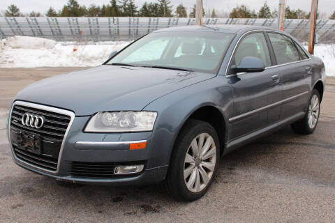 2008 Audi A8 L for sale at Imotobank in Walpole MA