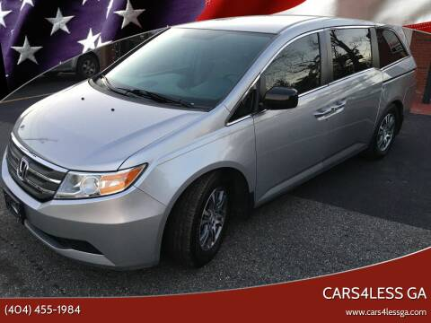 2013 Honda Odyssey for sale at Cars4Less GA in Alpharetta GA