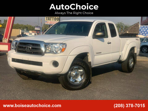 2010 Toyota Tacoma for sale at AutoChoice in Boise ID