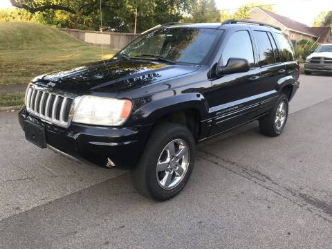 2004 Jeep Grand Cherokee for sale at Eddie's Auto Sales in Jeffersonville IN