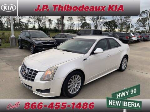 2012 Cadillac CTS for sale at J P Thibodeaux Used Cars in New Iberia LA