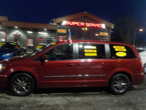 2014 Chrysler Town and Country for sale at Super Service Used Cars in Milwaukee WI