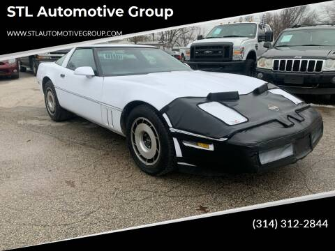 1984 Chevrolet Corvette for sale at STL Automotive Group in O'Fallon MO