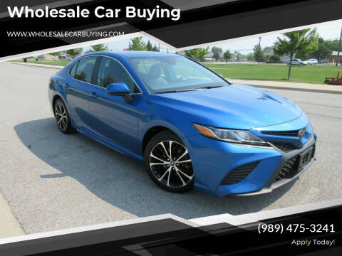 2019 Toyota Camry for sale at Wholesale Car Buying in Saginaw MI