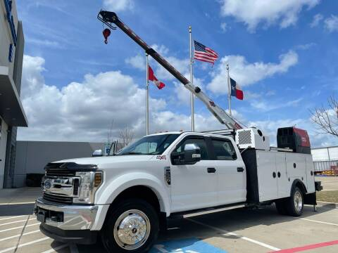 2018 Ford F-550 Super Duty for sale at TWIN CITY MOTORS in Houston TX