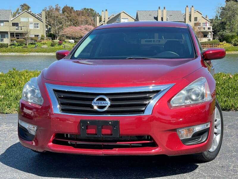 2015 Nissan Altima for sale at Continental Car Sales in San Mateo CA