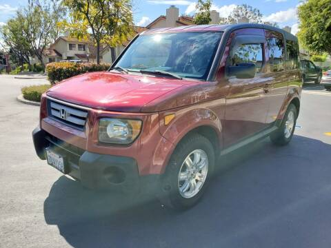2008 Honda Element for sale at E MOTORCARS in Fullerton CA