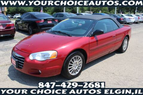 2006 Chrysler Sebring for sale at Your Choice Autos - Elgin in Elgin IL
