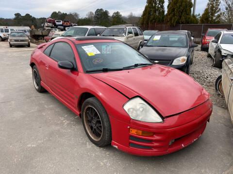 2000 Mitsubishi Eclipse for sale at Encore Auto Parts & Recycling in Jefferson GA