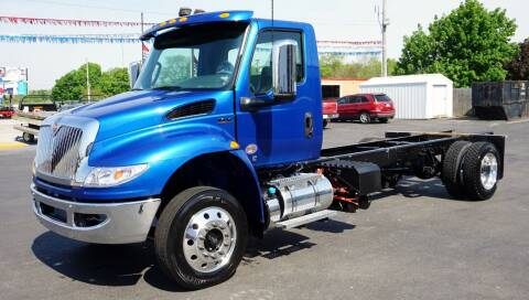 2022 International MV Day Cab for sale at Rick's Truck and Equipment in Kenton OH