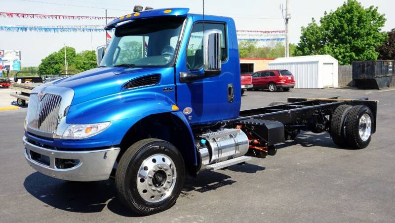 2022 International MV Day Cab for sale at Ricks Auto Sales, Inc. in Kenton OH