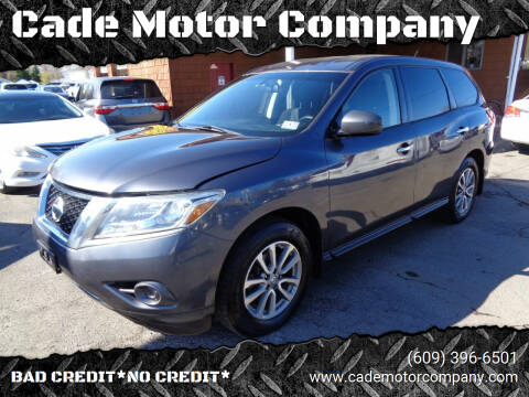 2014 Nissan Pathfinder for sale at Cade Motor Company in Lawrenceville NJ