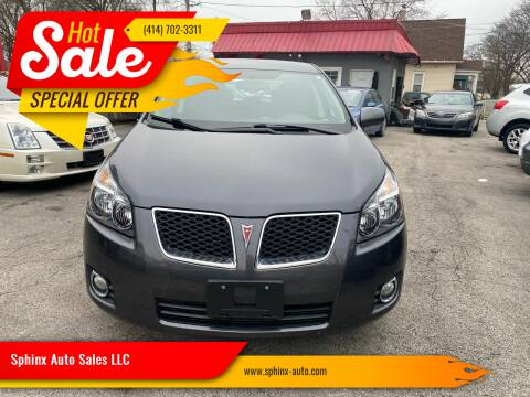 2009 Pontiac Vibe for sale at Sphinx Auto Sales LLC in Milwaukee WI