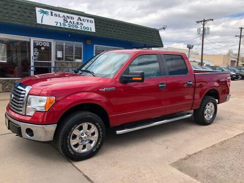 2011 Ford F-150 for sale at Island Auto Sales in Colorado Springs CO