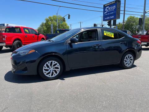 2018 Toyota Corolla for sale at 5 Star Auto Sales in Modesto CA