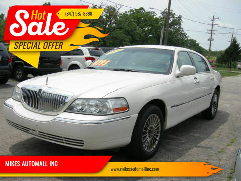 2007 Lincoln Town Car for sale at MIKES AUTOMALL INC in Ingleside IL