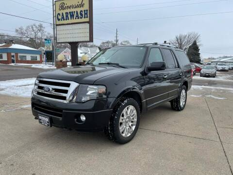 2011 Ford Expedition for sale at RIVERSIDE AUTO SALES in Sioux City IA