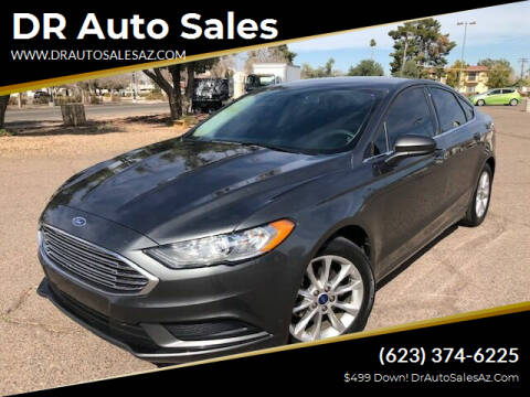 2017 Ford Fusion for sale at DR Auto Sales in Glendale AZ